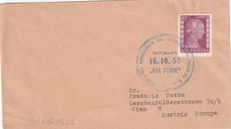 ARGENTINE 1953 LETTRE POUR WIEN - Lettres & Documents