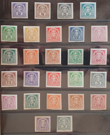Österreich 1920/21, Mi 393-311 X Und Y MNH Postfrisch - Nuevos