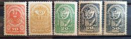 Österreich 1919, Mi Ex 255-74 Y MNH Postfrisch - Nuevos