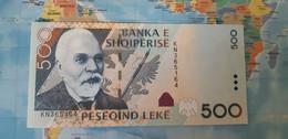 ALBANIA 500 LEKE 2007 P 72b UNC - Albania