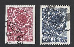 Schweden, 1968, Michel-Nr. 614-615, Gestempelt - Gebraucht
