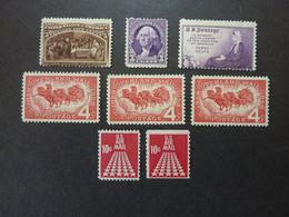 USA Années 1893 Et +, YT N° 85 Neuf Sans Gomme (cote 85 EUR) + N° 313 Et 326 MH + N° 653 X 3 MNH + N° PA 69 Et 69a MH - Ungebraucht