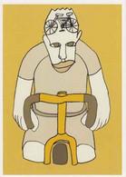 Cpm 1741/681 ERGON - Homme à Bicyclette - Chat - Vélo - Cyclisme - Bicycle - Illustrateur - Peintre - Ergon