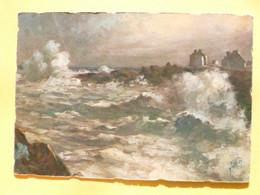 V11-29-finistere--saint Guenolé-maree D'equinoxe- - Non Classés