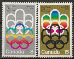 CANADA: **, N° YT 506 Et 507, TB - Neufs