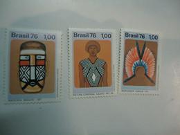 BRAZIL  MNH  SET 3   1976  ART  MUSEUM - Sin Clasificación