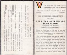 Oorlog 40 45 - Kamp - VAN COPPENOLLE Yvan ° Deinze 1898  - + Erzingen (D) 1945 - Religion & Esotérisme