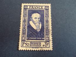"1931-40  Oblitéré N°   589  ""  A.PARE ""  Net  0.80    -  Photo   3 - Usados"