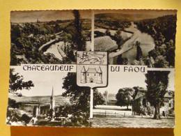 V11-29-finistere--chateauneuf- Du- Faou-vallee De L'aulne-- Multivues-chateau De Trevarez--1957 - Châteauneuf-du-Faou