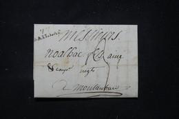 FRANCE - Marque Postale De Saillac Sur Lettre Pour Montauban - L 89790 - 1801-1848: Précurseurs XIX