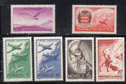 XP3437 - MONACO 1941 , Posta Aerea Unificato  N. 2/7 - Airmail
