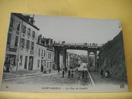 22 7235 CPA - 22 SAINT BRIEUC. LE PONT DE GOUEDIC - BELLE ANIMATION - Saint-Brieuc