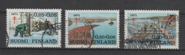 (S2031) FINLAND, 1971 (Anti-Tuberculosis Fund). Complete Set. Mi ## 686-688. Used - Oblitérés