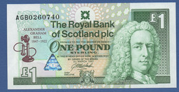 SCOTLAND - P.359 – 1 POUND1997 - UNC - COMMEMORATIVE - Graham Bell - 1 Pound