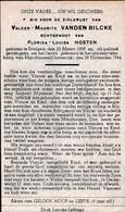 Oorlog 40 45  Kamp - VANDENBILCKE Valeer ° Ettelgem 1909 - + Mauthausen (Oostenrijk) 1944 - Religion & Esotérisme