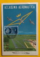 13347 - Academia Aeronautica Congresso  Roma   22.09.1956 - Cartoline Maximum