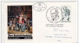 FDc Osterreich 1970 Der Bettelstudent. - FDC