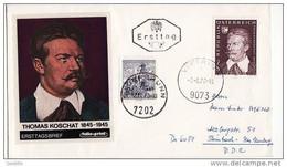 FDc Osterreich 1970 T. Koschat. - FDC