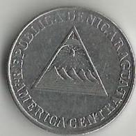 Pièce De Monnaie  25 Centavos De Cordoba 1994 - Nicaragua