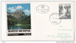 FDc Osterreich 1970  Shutzt Die Natur. - FDC