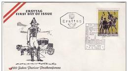 FDc Osterreich 1963 Pariser Postkonferenz. - FDC
