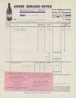 1966:Factuur Van/Facture De ## André ROELENS-DUYCK, EERNEGEM – A.R.O. Limonades ## Aan/à Brouwerij HAUSPIE, Poperinge. - 1950 - ...