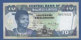 SWAZILAND - P.29c – 10 Emalangeni 2006 - UNC - Swaziland