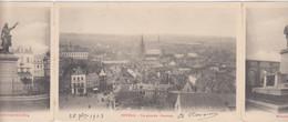Doornik/Tournai - Triptiek/Drieluik  (gelopen Met Zegel) (licht Beschadigde Staat Maar ZELDZAAM) - Tournai