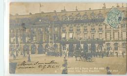15995 - PARIS - EDOUARD VII A PARIS / 01/05/1903 / PLACE DE L HOTEL DE VILLE - Unclassified