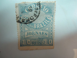 BRAZIL    USED    OLD STAMPS   WITH  POSTMARKS - Sin Clasificación