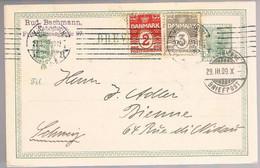 Danmark, 1909, For Bienne - Briefe U. Dokumente
