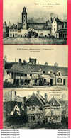 LOT DE 3 CPSM (Réf : X486) VANNES (56 MORBIHAN) Ancienne Marie - Maison Du XVI° - Place Cabello (animée) - Vannes