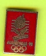 Pin's JO Jeux Olympiques Albertville '92 - 4P03 - Jeux Olympiques