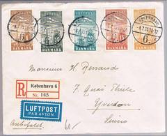 Danmark, 1935, For Yverdon - Briefe U. Dokumente