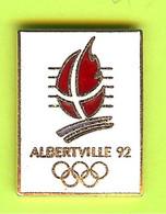 Pin's JO Jeux Olympiques Albertville '92 - 4P04 - Jeux Olympiques