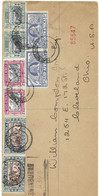 South Africa FDC 14.12.1938 Swinburne To Ohio USA R-letter With 4 Pairs (stamps Alone 60 Euros) US Cancels On Back - Briefe U. Dokumente