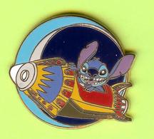 Pin's BD Disney Stitch Vaisseau Spatial - 4P05 - Disney