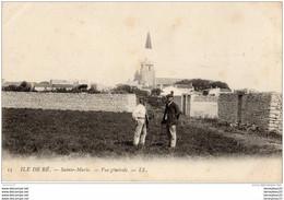 CPA (Réf. P998) Saint-Marie-de-Ré (Charente Maritime 17410) Vue Générale - Animée - - Unclassified
