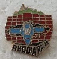 Pin's - Militaria - Armée De L'Air - RHODIA - RADAR - - Militaria