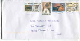 Belgio (2020) - Busta Per L'Italia - Cartas