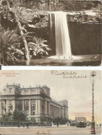 002231 - AUSTRALIA - 2 PCs VIC :  KALIMNA FALLS, PUB. ROBERTSON, 1906 - PARLIAMENT HOUSE, 1905 - Gippsland