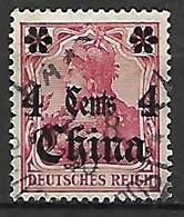 CHINE   -   Bureaux Allemands  -    1905  .  Y&T N° 31 Oblitéré - Offices: China