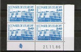 Coin Daté N°95**_21/11/86_cote 17.00 - Servicio