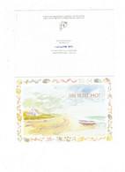 DOUBLE CPM - Un Petit Mot Doux Souvenir R. CHRISTENSEN - Escargot Moule Coquillage Paysage Bord De Mer - Andere
