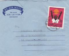 ZANZIBAR :  Aérogramme De Zanzibar Pour La Suisse 1964 - Zanzibar (1963-1968)