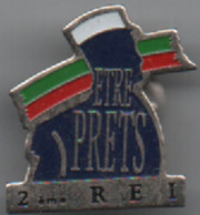 Pin's   Militaire  2 Ième  R E I - Militaria