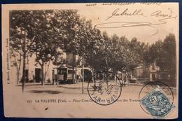 1 Carte Postale De La Valette - Station Des Tramways (France - VAR - 83) - La Valette Du Var