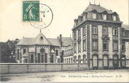 CPA Evreux Collège Saint-François - Evreux
