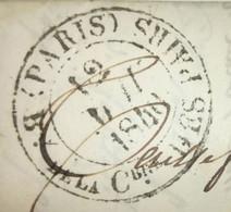 Lettre 1840 - BUREAU DE LA CHAMBRE DES PAIRS Pour BEAUVAIS - 1801-1848: Précurseurs XIX
