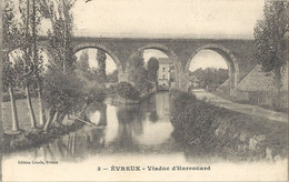 CPA Evreux Viaduc D'Harrouard - Evreux